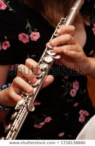 Flute performance abstract Stock photo © RazvanPhotography