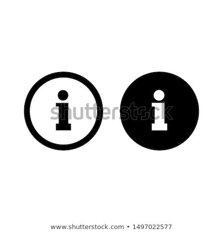 Info knoppen collectie kleuren abstract Stockfoto © simo988