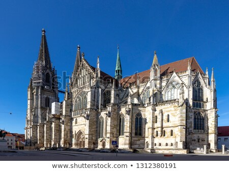 Cathedral of Regensburg Stock photo © Spectral