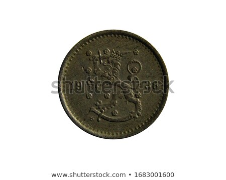 Old Finnish Coins Stock photo © Stocksnapper