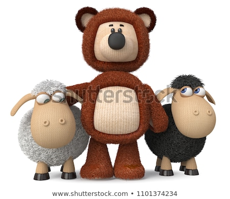 Cartoon Character Sheep Stock photo © RAStudio