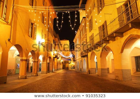 Old passage in Alba, Italy. Stock photo © rglinsky77