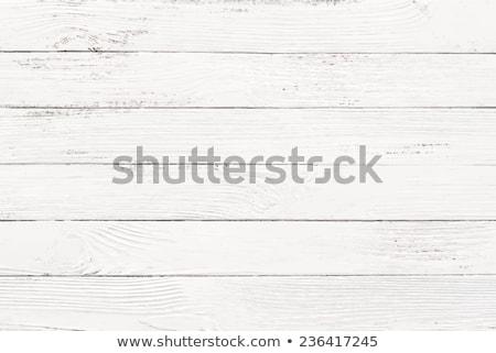 Fehér fa textúra vektor viharvert fából készült palánk Stock fotó © IMaster
