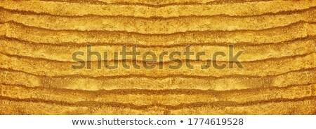 golden sand grooves Stock photo © smithore