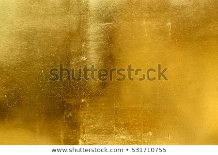 Altın doku boya arka plan fırçalamak yansıma Stok fotoğraf © Leonardi