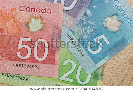 canadian money dollars stock photo © maridav