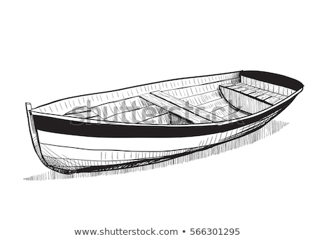 sketched boat Stock photo © prill