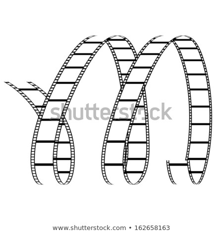 film reels forming letter m stock photo © cidepix