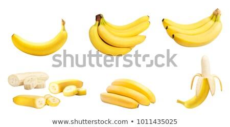 banana · set · vettore · illustrazione · banane - foto d'archivio © czaroot
