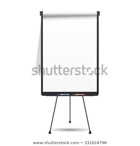 диаграммы бизнеса свет синий информации белый Сток-фото © czaroot