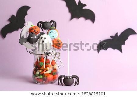 Funny halloween theme Stock photo © silent47