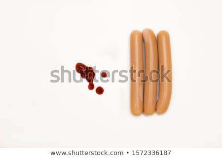 Three sausages Stock photo © broker