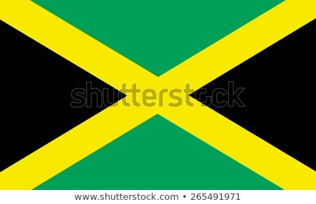 Jamaica vlag glanzend vlaggen grond Stockfoto © idesign