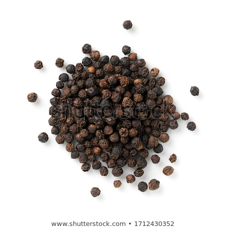 Pimenta preta sementes preto quente fresco Foto stock © empe