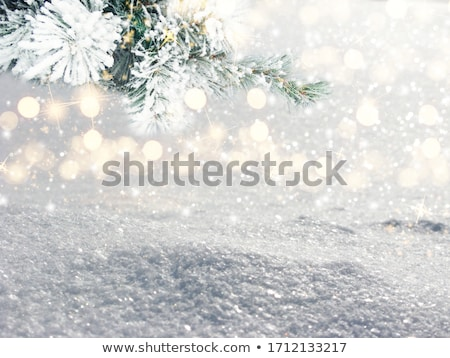 sparkling christmas snowflakes background stock photo © meikis