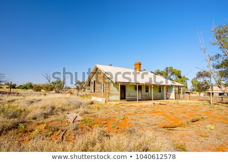 Ghost town goldfields Australia Stock photo © roboriginal