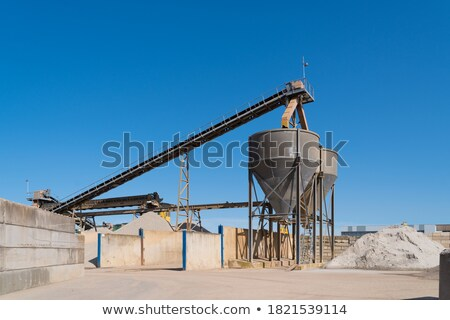 concrete mixer plants stock photo © ruzanna
