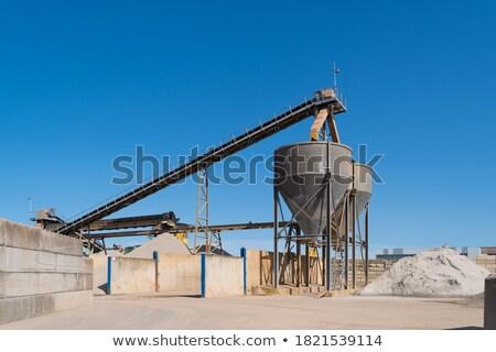 Foto stock: Concretas · mezclador · plantas · Turquía · trabajo · tecnología