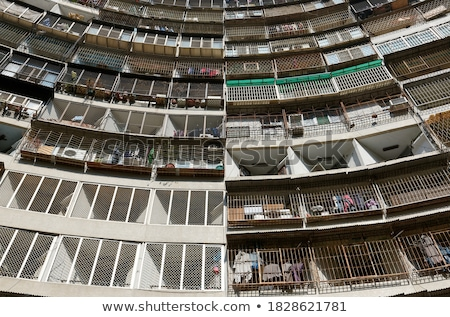 Packed Hong Kong housing apartments Stock photo © kawing921