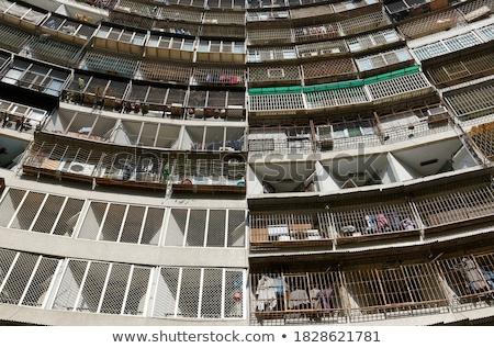 Hongkong · publicznych · obudowa · niebo · domu · tle - zdjęcia stock © kawing921