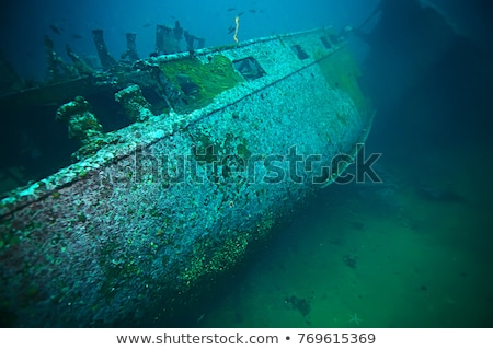 Shipwreck Beneath the Sea stock photo © AlienCat