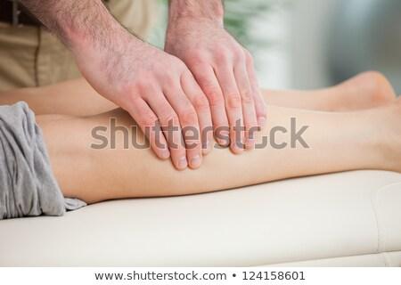 ayak · doktor · tıbbi · bakım · yakın · çekim - stok fotoğraf © wavebreak_media