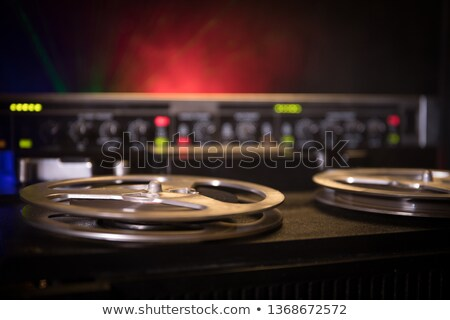 Hi-Fi Stereo wheel Stock photo © pab_map