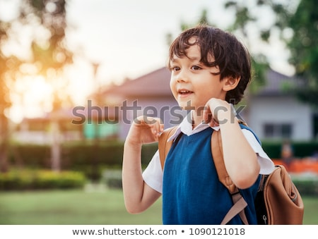 Smiling Boy Outdoors Stock photo © 2tun