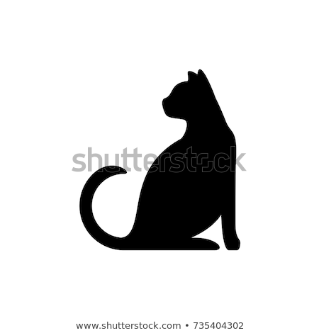 Icône chat enfant rire animaux chatte Photo stock © zzve