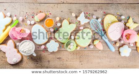 cookies · koeling · rack · bloem - stockfoto © ruthblack