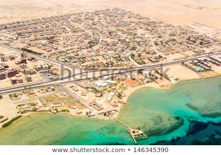 Görmek Mısır üst su Bina manzara Stok fotoğraf © IMaster