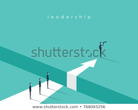 Leadership gap Stock photo © Lightsource