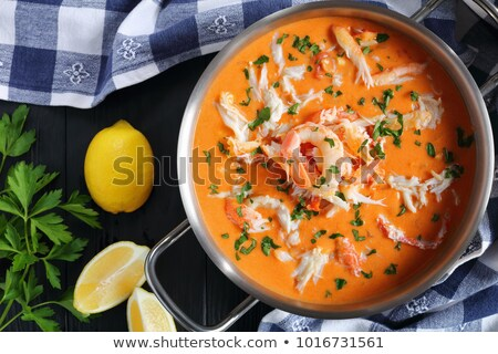 Lobster Bisque Recipe Stock photo © brookefuller