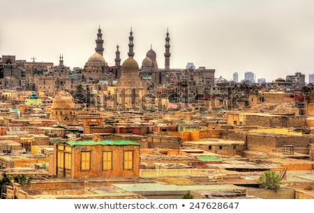 city of the dead slum in cairo egypt Stock photo © travelphotography