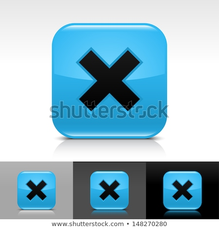 tools sign in blue glass blocks stock photo © marinini