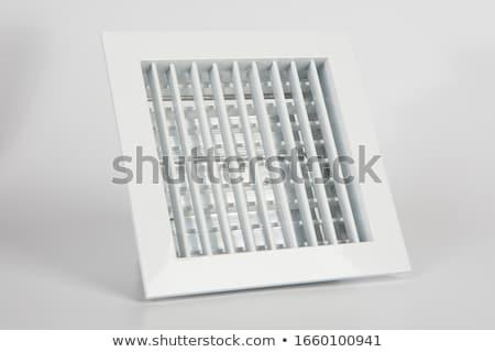 вентиляция сетке конкретные стены здании древесины Сток-фото © smuay
