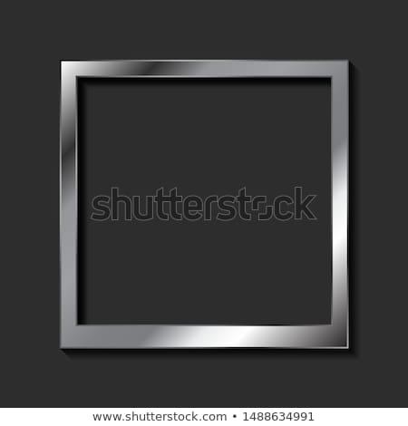 Ezüst üzlet szeretet film művészet jókedv Stock fotó © shawlinmohd