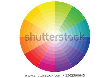 szivárvány · kör · alkotóelem · vektor · szín · spektrum - stock fotó © elenapro