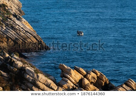 Coastline cliff details Stock photo © smithore