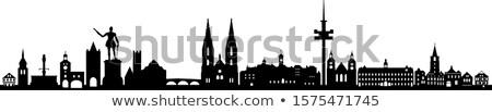 Regensburg skyline Stock photo © joyr