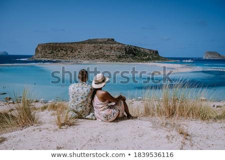 воды пород Греция Закинф Сток-фото © Mps197
