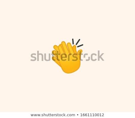 hands applauding stock photo © cherezoff