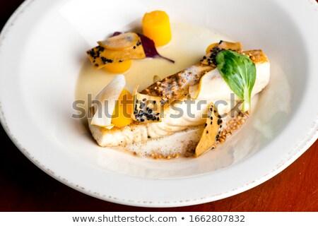 Gül balık pazar gıda sağlık pişirme Stok fotoğraf © pumujcl