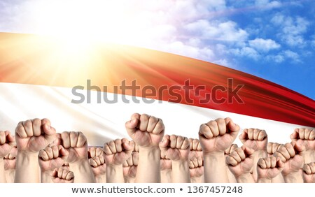 Netherlands Labour movement, workers union strike Stock photo © stevanovicigor