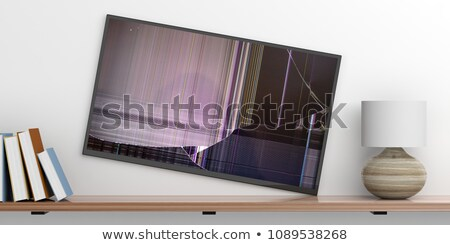 Broken TV Stock photo © pedrosala