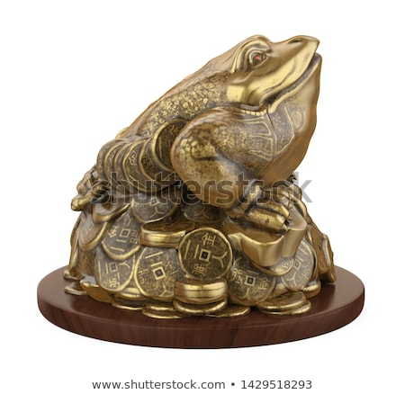 Feng shui frog, a symbol of China Stock photo © Ralko