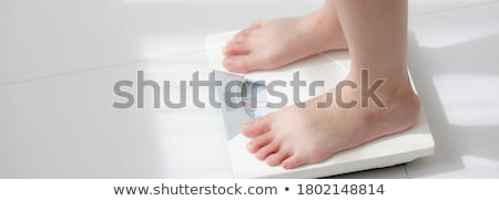 Diet Weight Scale Stock photo © Lightsource