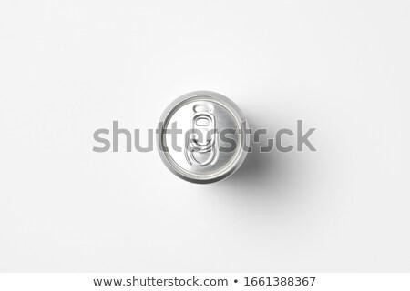 rojo · blanco · alimentos · beber · contenedor - foto stock © njnightsky