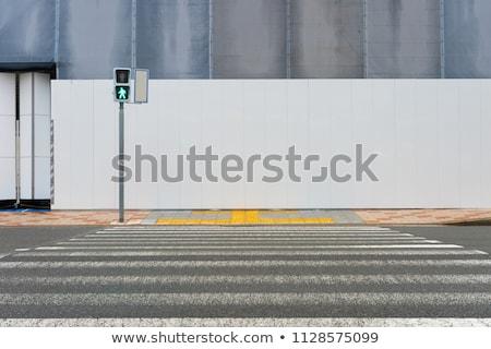 verouderd · lantaarn · decoratief · straat · details · blauwe · hemel - stockfoto © zhekos