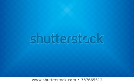 Abstract Blue Background With Transparent Glass Squares Stok fotoğraf © ALMAGAMI